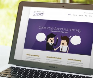 All About The Story came to us in need of a website that allowed them to feature the unique storytelling services they offer to the business market.