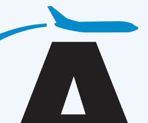 The Tucson Airport preferred a conservative solution for their new logo identity. During the design process, we developed many logo icons to represent the airport. Some of our favorites were among those that represented the airport within the context of southern Arizona geographical elements.