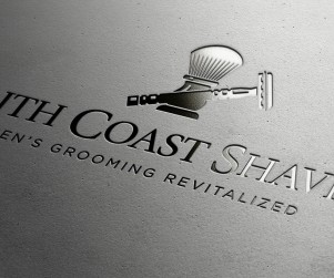 South Coast Shaving is an eCommerce site based out of San Diego. Hence the name. They sell men's grooming products and asked us to develop a logo identity utilizing the traditional double-edge razor and shaving soap brush.