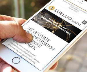Luellig Legal website