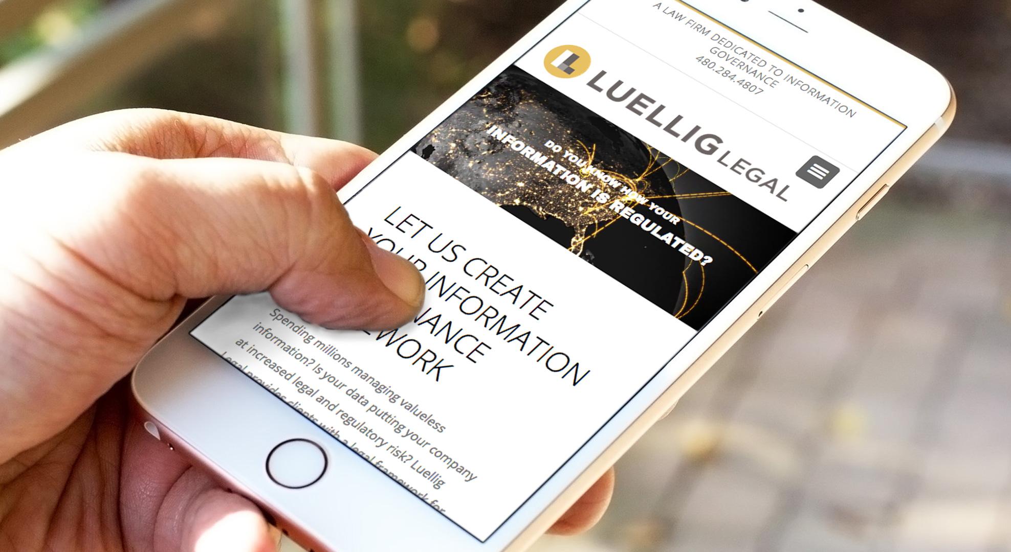 Luellig Legal website